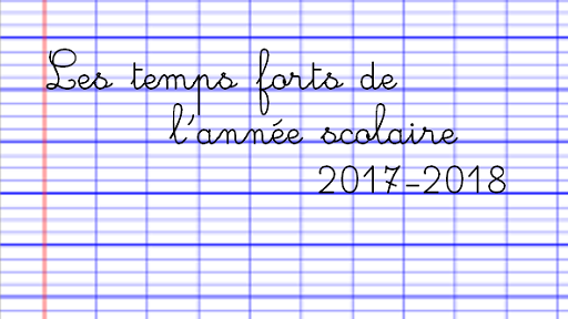 Les temps forts 2017-2018